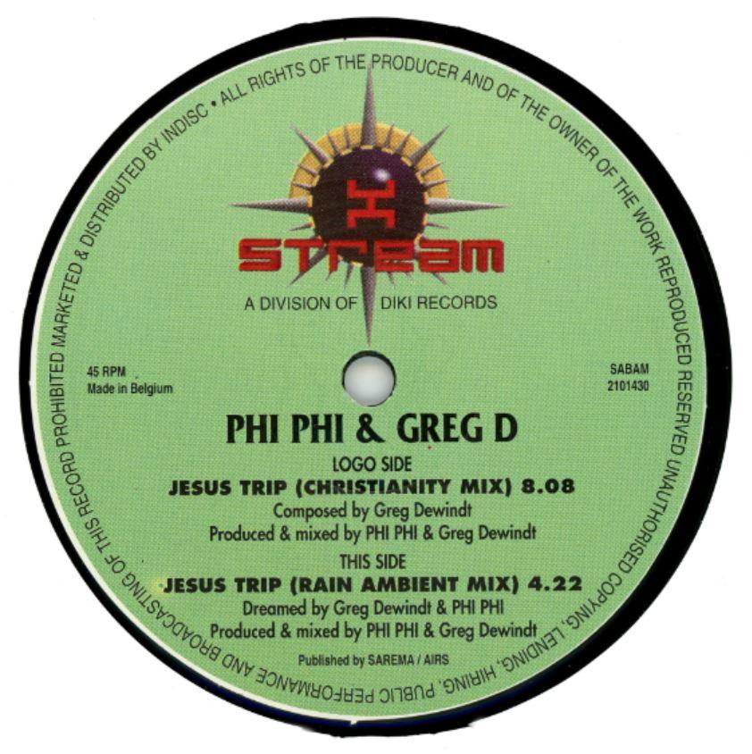 JESUS TRIP — PHI-PHI & GREG D